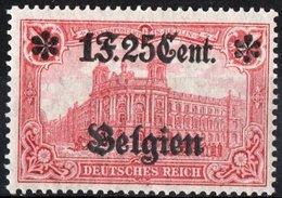 BELGIO, BELGIUM, OCCUPAZIONE TEDESCA, GERMAN OCCUPATION, 1916, FRANCOBOLLI NUOVI (MLH*) Michel 23    Scott N23 - Belgium