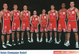REIMS CHAMPAGNE BASKET-Saison 2001/2002 - Basket-ball