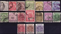 TD-27 - TRASVAAL Lot De 17 Valeurs Entre N° 73 Et N° 123 Neufs*et Oblitérés - Stamps