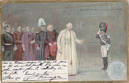 ROMA - SUA SANTITA NELLA SALA DI CONSTANTINO - DOS SIMPLE - 1900 - Papes