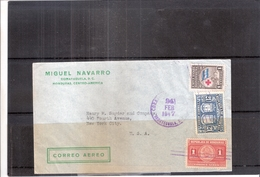 Letter From Honduras To USA - 1947 (to See) - Honduras