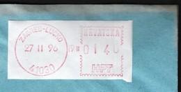 Croatia 41030 Zagreb 1996 / Machine Stamp / Francotyp - Croatie