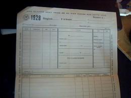 Facture A Entete Imprimerie Roscam A Bruxelle Belgique Annee 1965 Facturette - Imprimerie & Papeterie