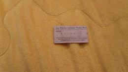 TICKET DE POIDS ANCIEN S.A. FRANCAISE DES BASCULES AUTOMATIQUES PARIS. DE 1941. - Unclassified