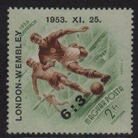 Hongrie - PA N°159A - Victoire Des Footballeurs Hongrois 1952 - Neufs Sans Gomme - Hongrie