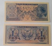 Indonesia - 1 Rupiah1954 UNC Ukr-OP - Indonesia