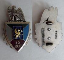 Insigne Du 12 Rgt De Commandement Et De Soutien - Army