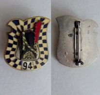 Insigne Du 94 Rgt D'Infanterie - Army