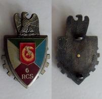 Insigne Du 6 Rgt De Commandement Et De Soutien - Army