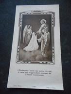 IMAGE PIEUSE Communion 1950 Eglise SAINT SYMPHORIEN à VERSAILLES - Religión & Esoterismo