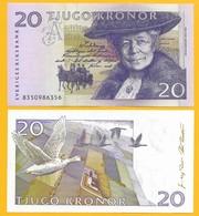 Sweden 20 Kronor P-63a 1998 UNC - Suède