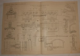 Plan Du Chemin De Fer Métropolitain De Paris. 1908 - Opere Pubbliche