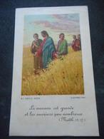 """IMAGE PIEUSE """"La Moisson Est Grande Et Les Ouvriers Peu Nombreux"""" - Religion & Esotericism"""