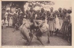 CP SENEGAL LUTTES SENEGALAISES AOF - Afrique
