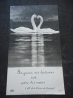 IMAGE PIEUSE 1963 - Fiançailles (deux Cygnes) - Religión & Esoterismo