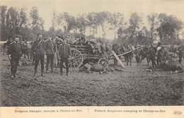 CPA 60 DRAGONS FRANCAIS CAMPES A CHOISY AU BAC - France