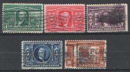 Stati Uniti 1904 Unif.187/91 O/Used VF/ F - Vereinigte Staaten