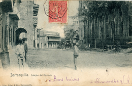 Barranquilla, Callejón Del Mercado - Colombia