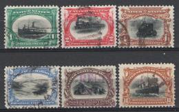 Stati Uniti 1901 Unif.158/63 O/Used VF/ F - United States