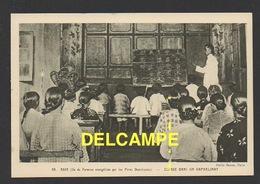 DD / FORMOSE / MISSIONS DE L' EGLISE CATHOLIQUE / PÈRES DOMINICAINS / CLASSE DANS UN ORPHELINAT - Formosa