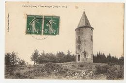 42 Violay, Tour Matagrin. Lot De 2 Cartes (1358) - Other Municipalities