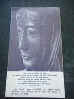 IMAGE PIEUSE Double CALENDRIER 1966 - IMPHY Nièvre - Pères PARENT Et RENAUD - Religion & Esotericism