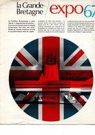 EXPO UNIVERSELLE 1967 MONTREAL CANADA   PAVILLON DE LA GRANDE BRETAGNE  8 PAGES  EXPLICATIONS  NEUF - Dépliants Turistici