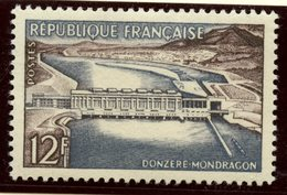 France 1956 12f  Dam Issue  #807 - France