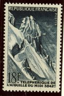 France 1956 18f  Cable Railway Issue  #808 - France