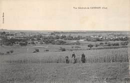CPA 60 VUE GENERALE DE CATENOY - France
