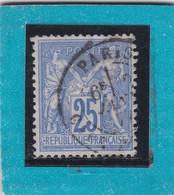 SAGE N° 78  TYPE IIB +  CACHET A DATE  PARIS  - REF AC - 1876-1898 Sage (Type II)