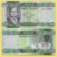 South Sudan 1 Pound P-5 2011 UNC - Soudan Du Sud