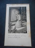 IMAGE PIEUSE Ancienne - Communion 1932 à SABLE -Colette FORGET - Religión & Esoterismo