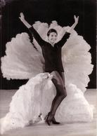 PHOTO AFP - 05/12/1961 - PARIS - NOUVEAU SPECTACLE DE ZIZI JEANMAIRE DANS UN GRAND MUSIC HALL PARISIEN - Célébrités