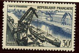 France 1956 30f  Strasbourg Issue  #809 - France