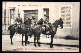 54-Lunéville, Officier Et Sous-officiers D'artillerie Bavaroise - Luneville