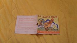 DECALCOMANIES LA BASSE COUR. SANS LES VIGNETTES. - Unclassified