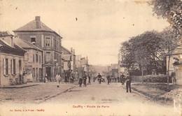 CPA 60 CAUFFRY ROUTE DE PARIS - France