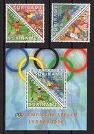 SURINAME  -  SYDNEY 2000 OLYMPIC GAMES  O597 - Sommer 2000: Sydney - Paralympics