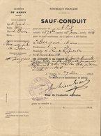 SAUF CONDUIT REPUBLIQUE FRANCAISE - Unclassified