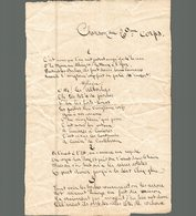 CHANSON DU 20eme CORPS - Unclassified