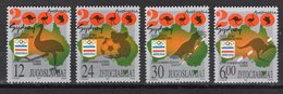 YUGOSLAVIA  -  SYDNEY 2000 OLYMPIC GAMES  O616 - Summer 2000: Sydney - Paralympic