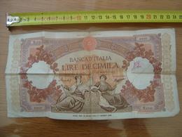 Billet 10000 Lire Diecimila REPUBBLICHE MARINARE 12 Maggio 1960 Serie M 1710 - [ 2] 1946-… : République