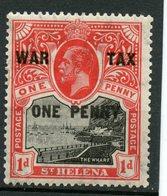 St. Helena 1916 1p  War Tax  #MR1 - Saint Helena Island