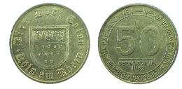 01193 GETTONE TOKEN JETON FICHA ADVERTISING VENDING BIER DORF COLON ROLN AM RHEIM DIESER TALER 50 - Allemagne