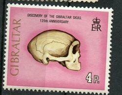 Gibraltar 1973 1p  Skull Issue #296 - Gibraltar