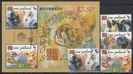 NUEVA ZELANDA 2008 Nº 2382/85 + HB-228 USADO - Nueva Zelanda
