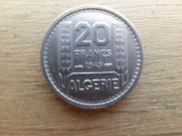 Algerie  20  Francs  1949  Km 91 - Algeria