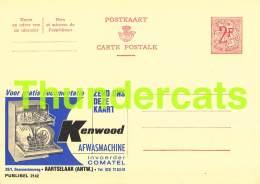 PUBLIBEL 2142  KENWOOD AARTSELAAR - Entiers Postaux