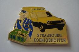20180421-1630 ALSACE STRASBOURG KOENIGSHOFFEN LA POSTE FACTEUR - Mail Services